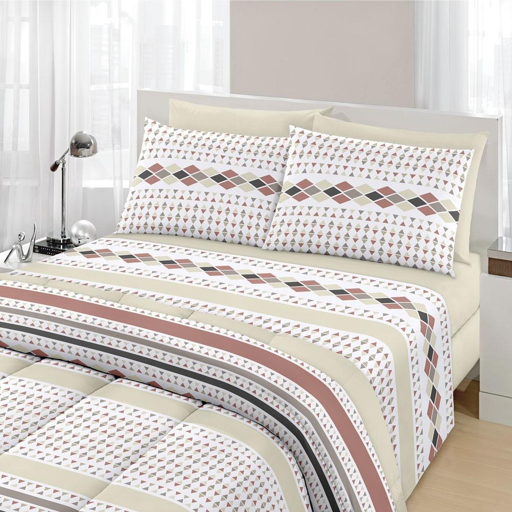jogo de cama nando