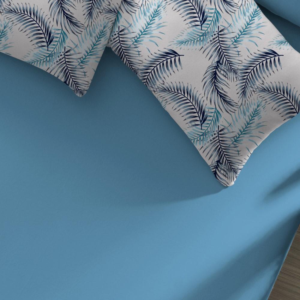 jogo de cama palmeiras azul zoom1