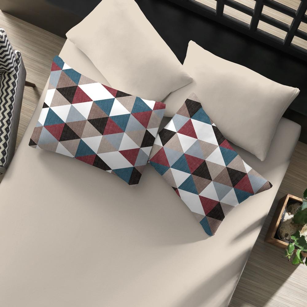 jogo de cama metalico color palha