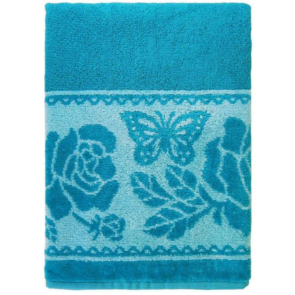 toalha charme borboletas esmeralda